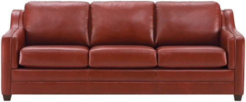Palliser Corissa Contemporary Sofa with Track Arms