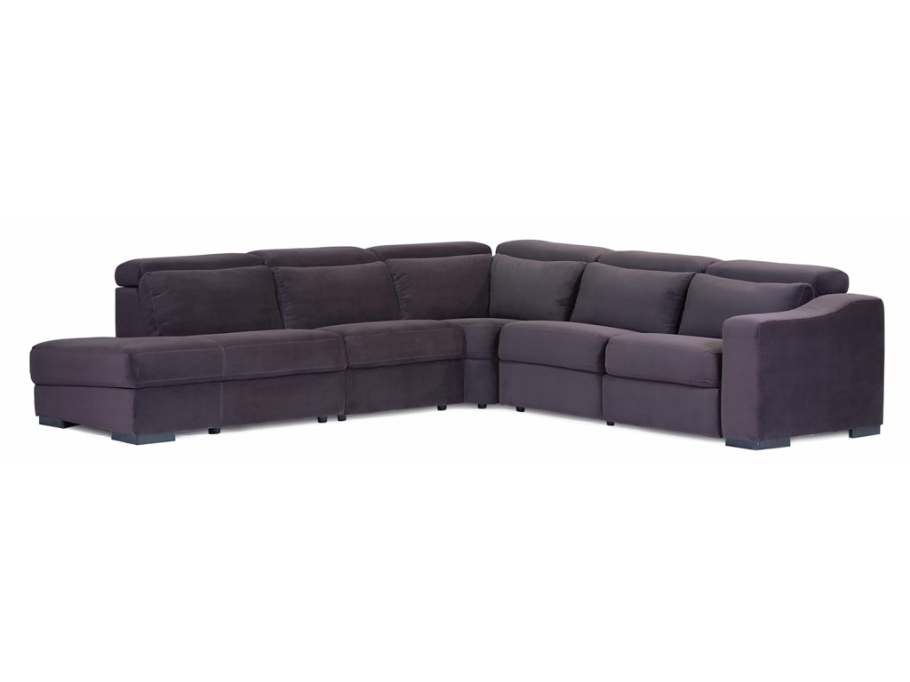 Palliser Cortez IIPowered LHF 5 Pc Sectional