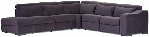Palliser Cortez II Stationary Left Hand Facing 5 Pc Sectional w/ Nest