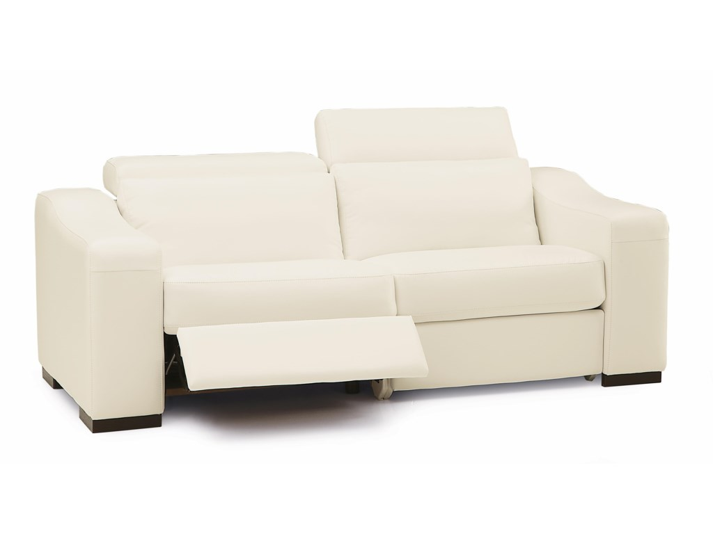 Palliser Cortez II Contemporary Sofa Recliner w/ Power | Wayside ...