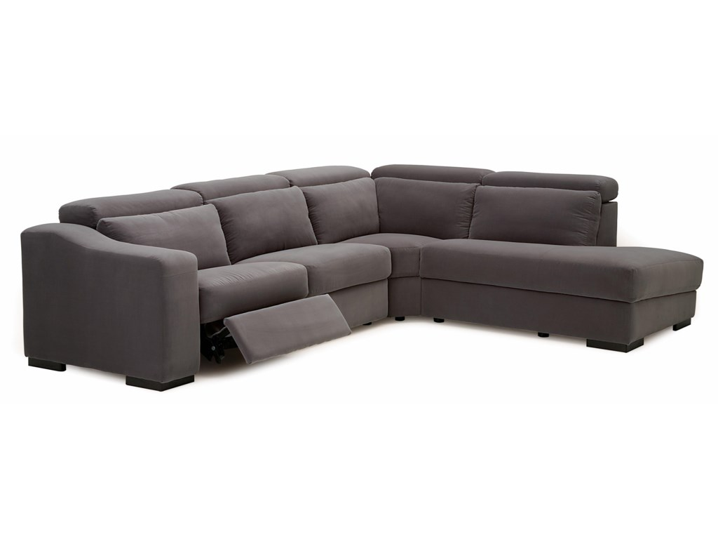 Palliser Cortez IIStationary RHF Small Sectional