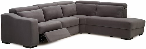 Palliser Cortez II Powered Right Hand Facing 4 Pc. Sectional