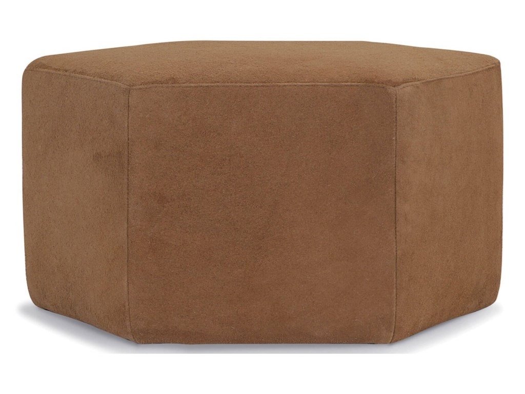 Palliser CourtyardHexagonal Cocktail Ottoman