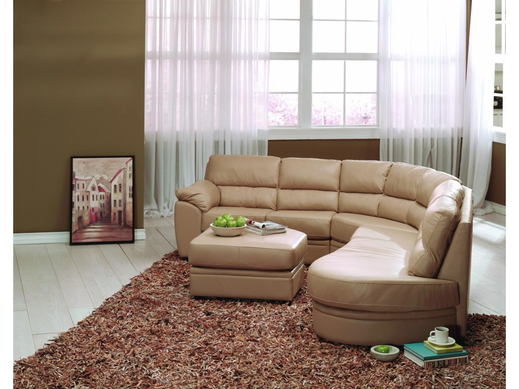 Shown with Angled Ottoman