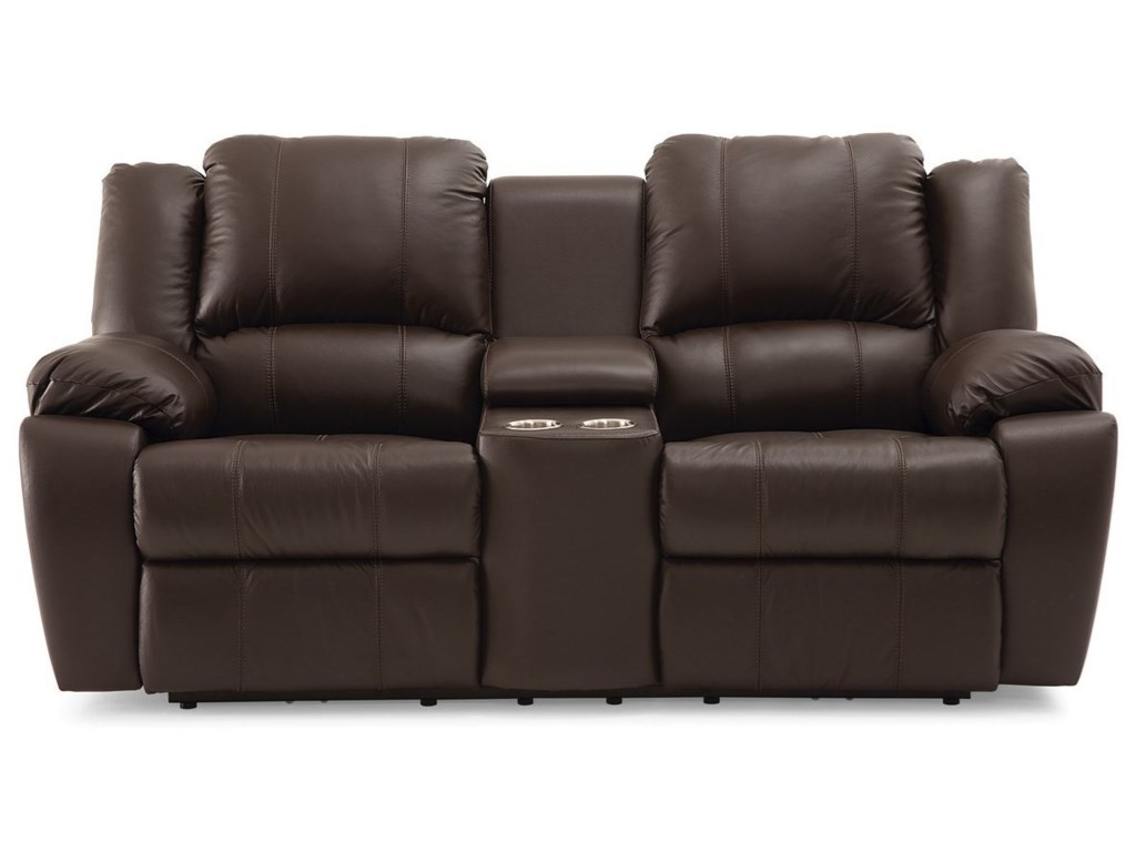 Palliser DelaneyPower Loveseat with Console