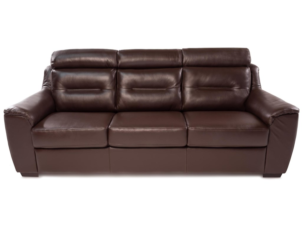 Palliser CopenhagenContemporary Leather Sofa