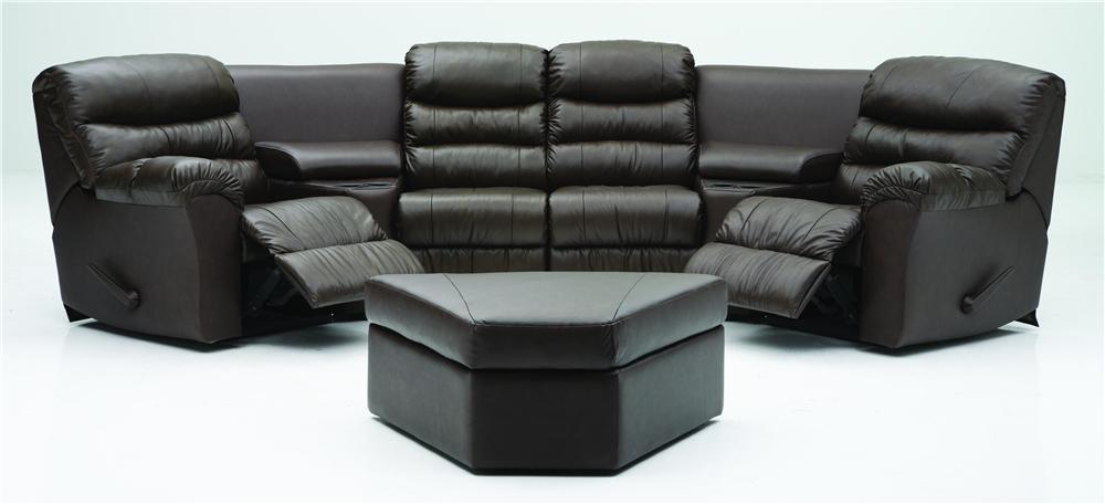 Palliser Durant Corner Home Theater Seating Configuration E