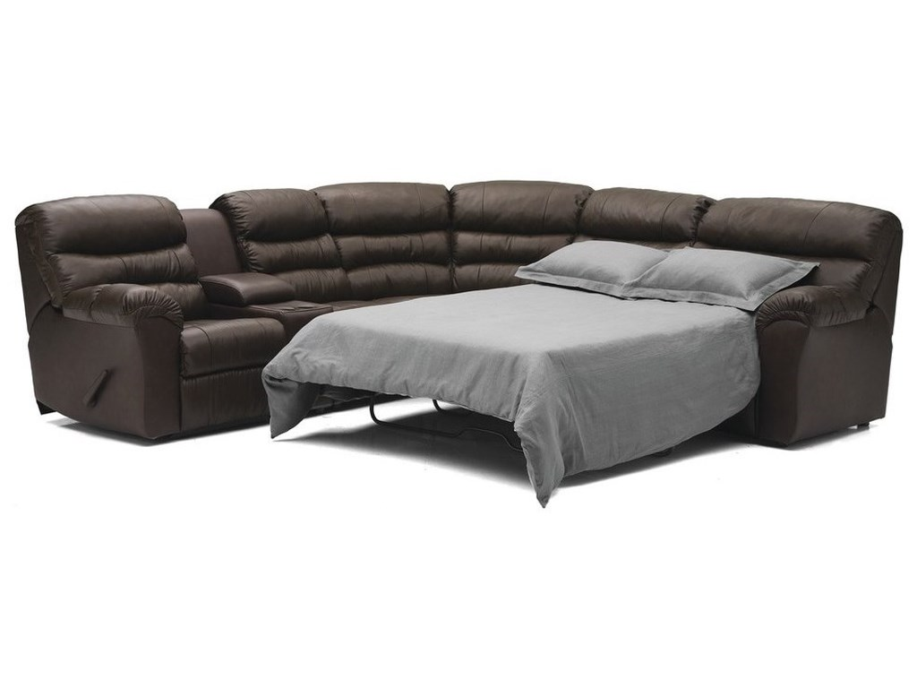 Palliser DurantSofabed Manual Reclining Sectional