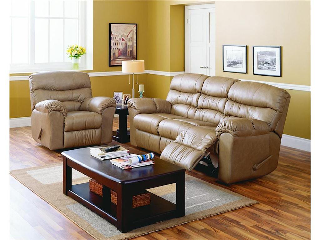Palliser DurantManual Reclining Sofa