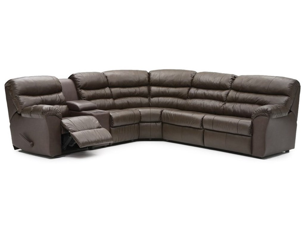 Palliser DurantPower Reclining Sofabed Sectional