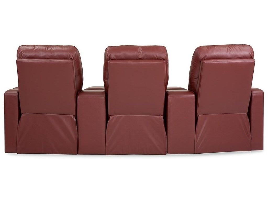 Palliser EliteThree Seat Curved Sectional