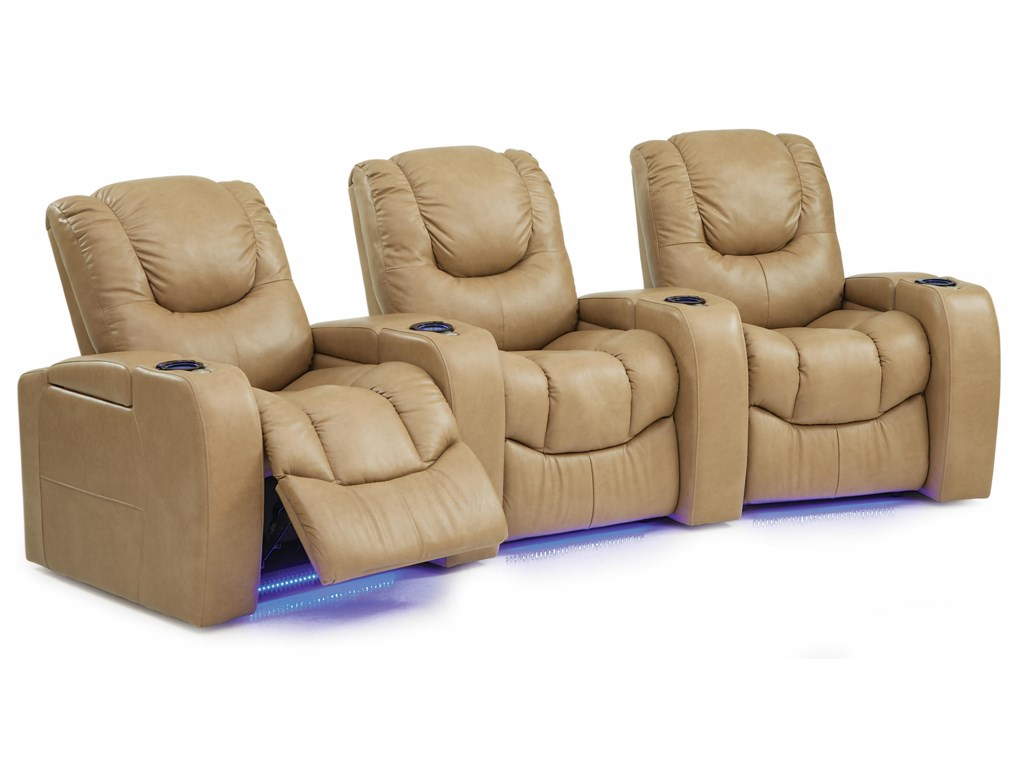 Palliser Equalizer3 Pc Power Reclining Home Theater Sectional