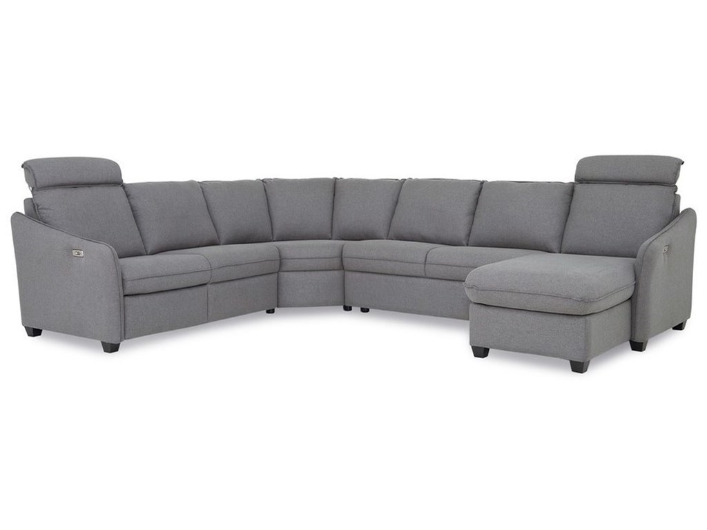 Palliser EthanPower Reclining Sectional with RAF Chaise