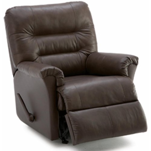 Palliser Fiesta Rocker Recliner with Channel-Tufted Back