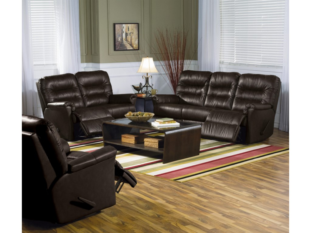Shown with Love Recliner and Rocker Recliner