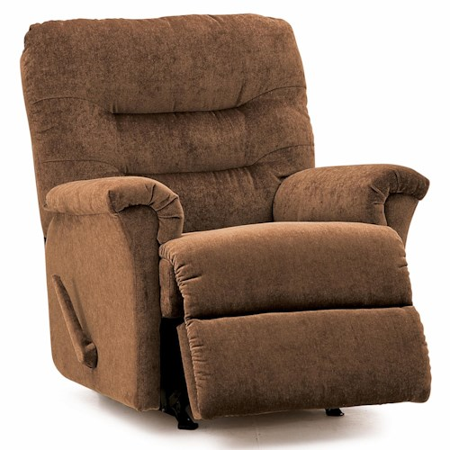 Palliser Fiesta Swivel Rocker Recliner with Channel-Tufted Back
