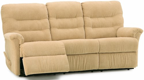 Palliser Fiesta Sofa Recliner with Channel-Tufted Back