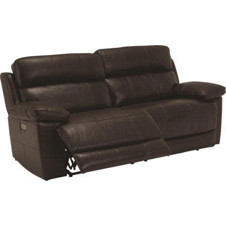 Power Reclining Sofa W/Power Headrest And US