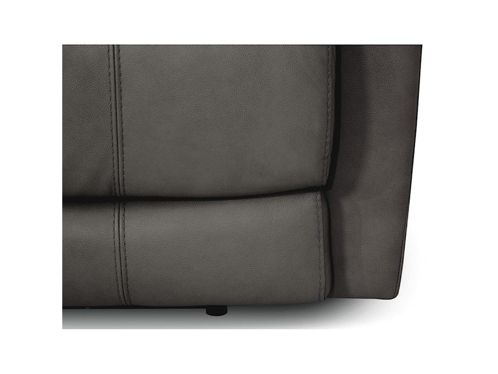 Palliser FinleyPower Headrest Reclining Console Loveseat