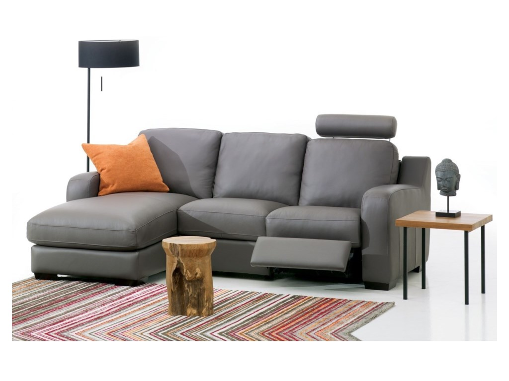 Palliser Flex3-Seat Reclining Sectional Sofa w/ LAF Chais