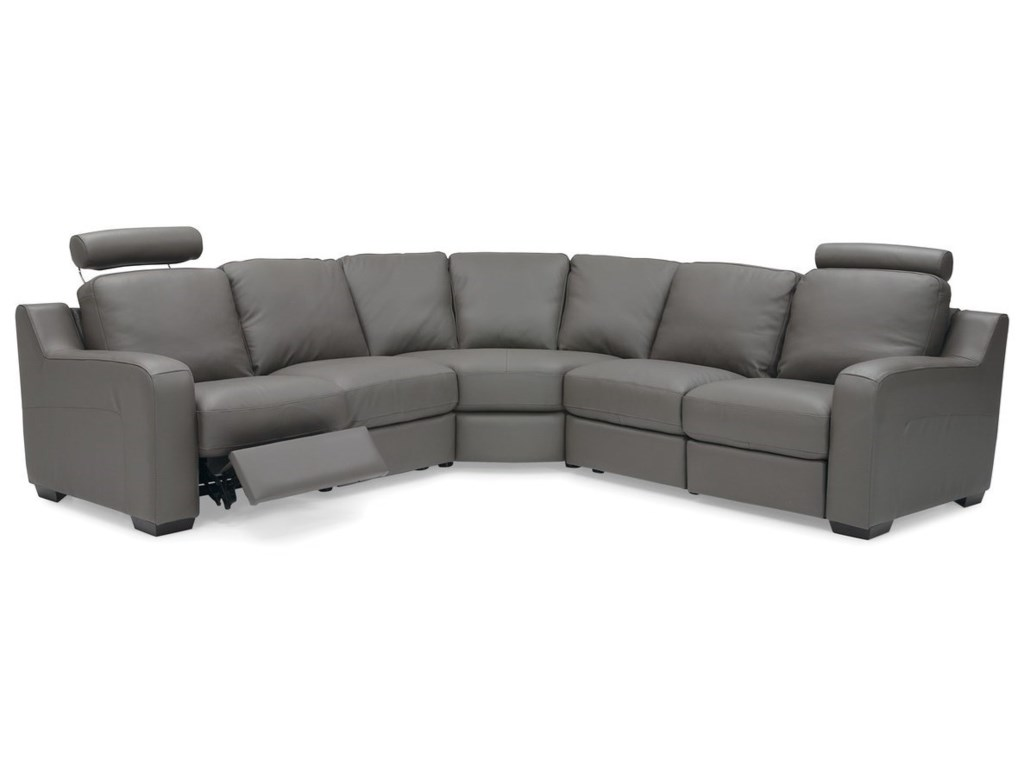 Palliser Flex5-Seat Reclining Sectional Sofa