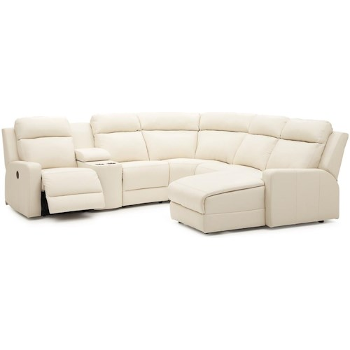 Palliser Forest Hill Reclining Sectional Sofa Chaise
