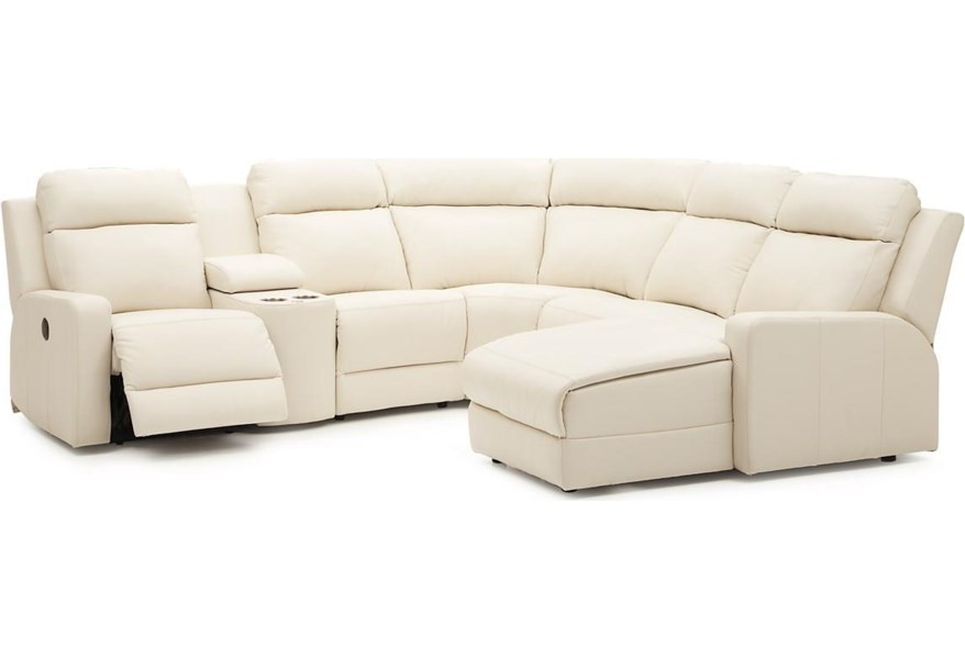Forest Hill Reclining Sectional Sofa Chaise