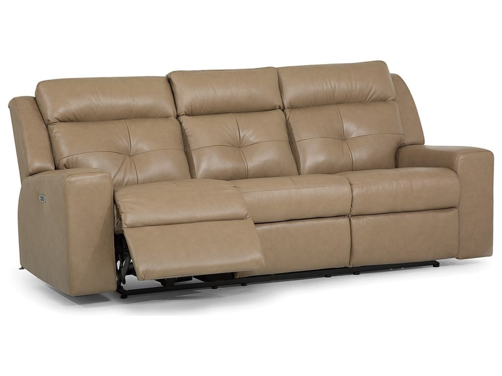 Palliser GroveSofa PwrRecliner w/ Power Headrest