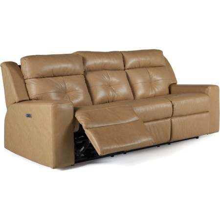Sofa PwrRecliner w/ Power Headrest