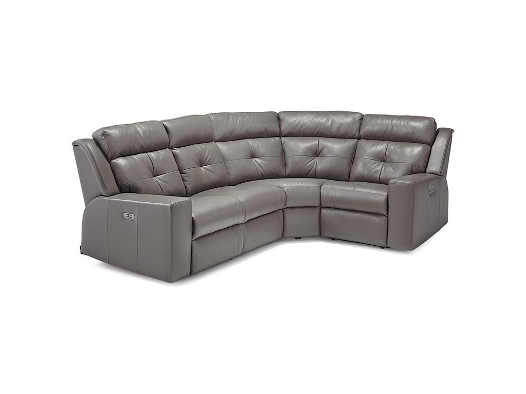 Palliser Grove3-Seat Reclining Sectional Sofa