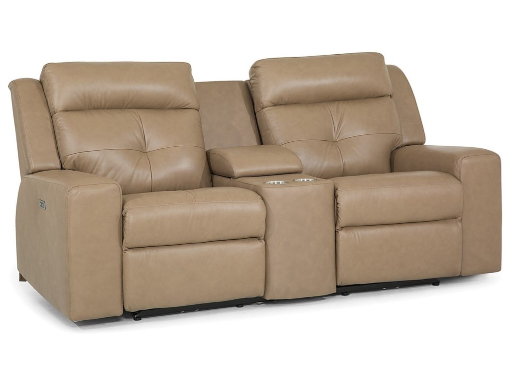 Palliser GroveConsole Loveseat Power Recline