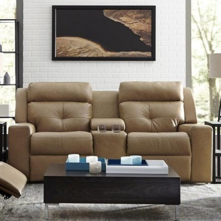 Console Loveseat Power Recline