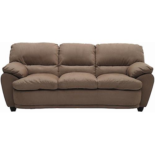 Palliser Harley Casual Upholstered Sofa