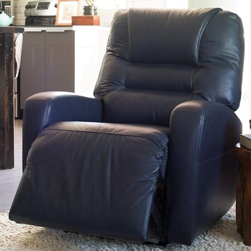 Palliser Highwood Contemporary Rocker Recliner with Track Arms