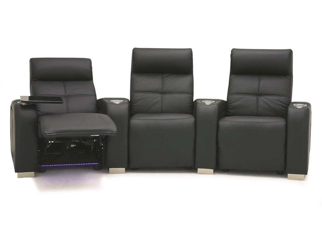 Palliser Indianapolis3 PC Reclining Sectional