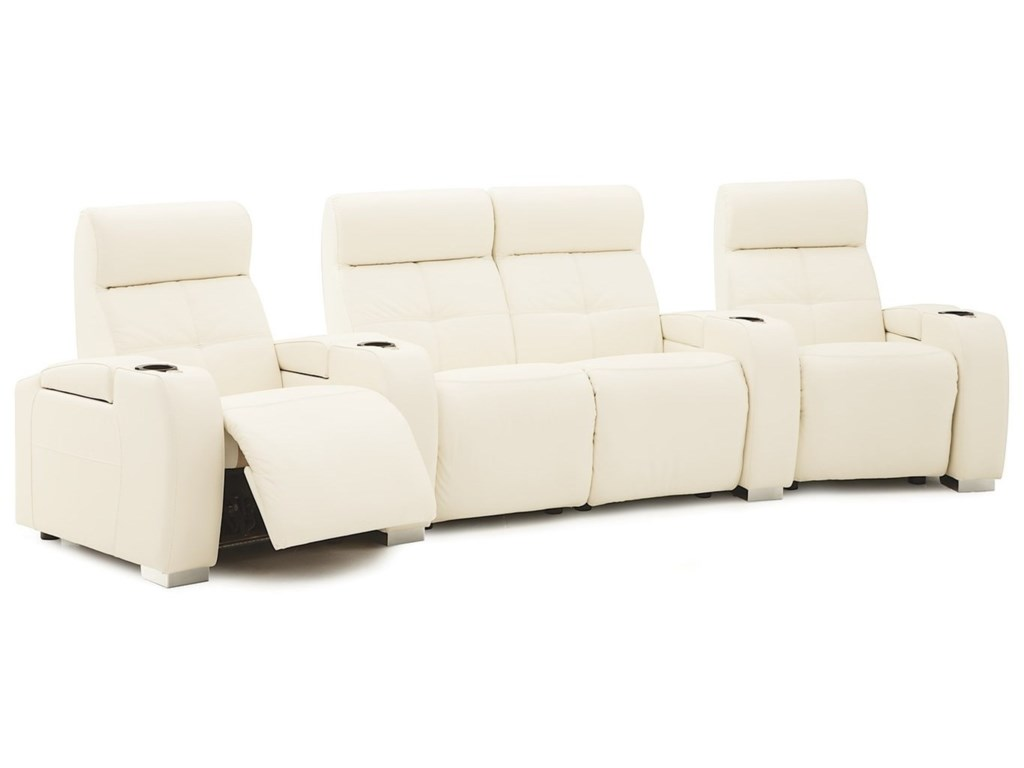 Palliser Indianapolis4-Seat Reclining Home Theater Sectional