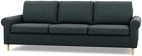 Palliser Inspirations Contemporary Sofa with Rolled Arms and High Legs