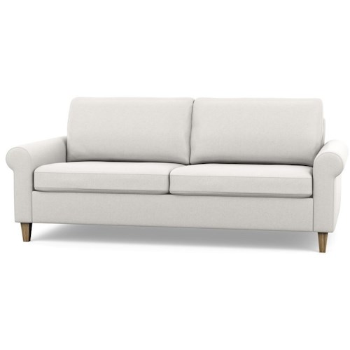 Palliser Inspirations Contemporary Apartment Sofa With