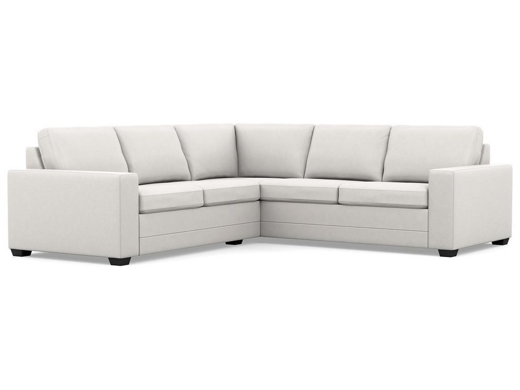 Palliser Inspirations - Bello Low Leg Contemporary Sectional ...
