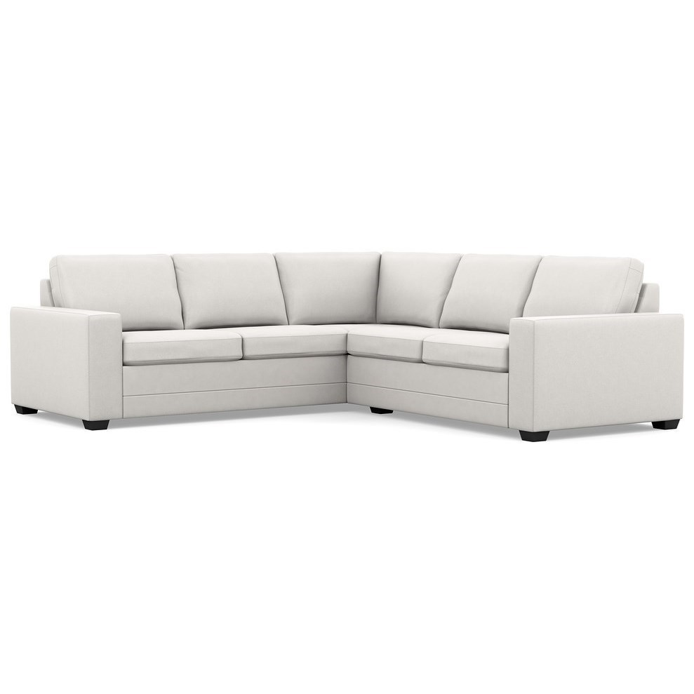 Palliser Inspirations Contemporary Sectional Sofa with Wide Track Arms and Low Legs  sc 1 st  Wayside Furniture : low sectional sofa - Sectionals, Sofas & Couches