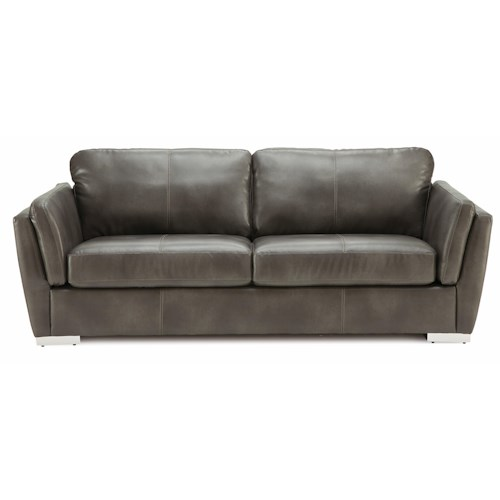 Palliser Iris Contemporary Sofa w/ Metal Feet