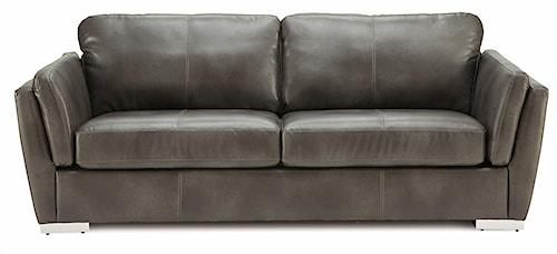 Palliser Iris Contemporary Sofa w/ Metal Feet