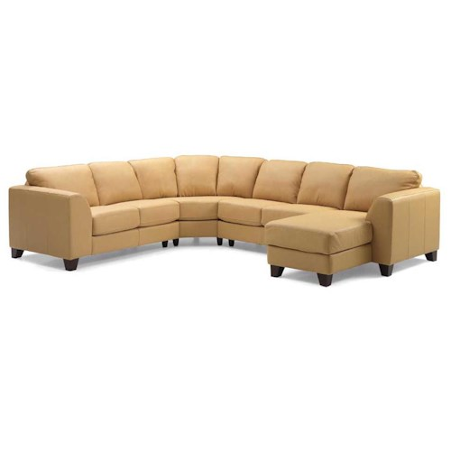 Palliser Juno Elements 77094 Left Arm Facing Corner Chaise Sectional