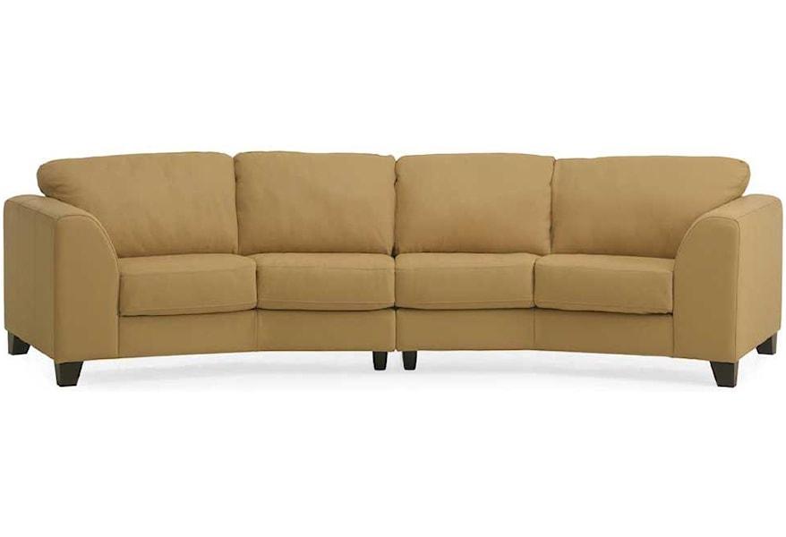 77494 97 98 Four Seat Angled Sofa
