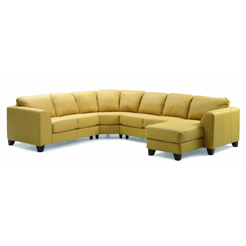 Palliser Juno Elements 77494 Left Arm Facing Corner Chaise Sectional