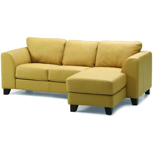 Palliser Juno Elements 77494 Three Seat Right Facing Chaise Sofa