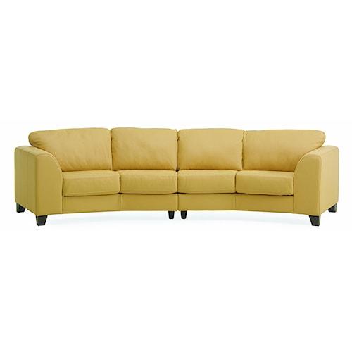 Palliser Juno Elements 77494 Four Seat Angled Sofa
