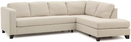 Palliser Jura  Contemporary Sectional Sofa with Right Facing Chaise