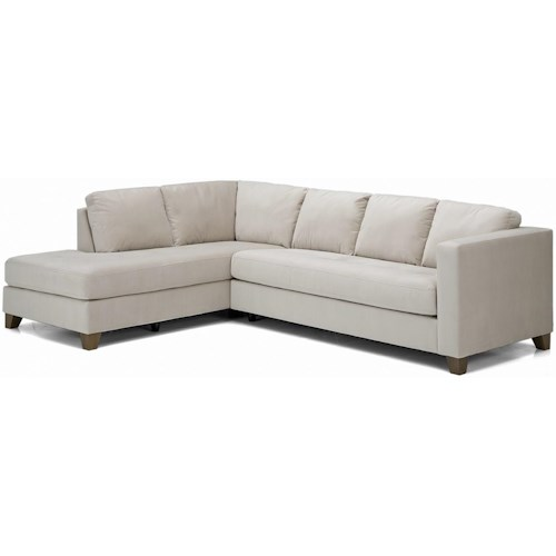Palliser Jura  Contemporary Sectional Sofa with Left Facing Chaise