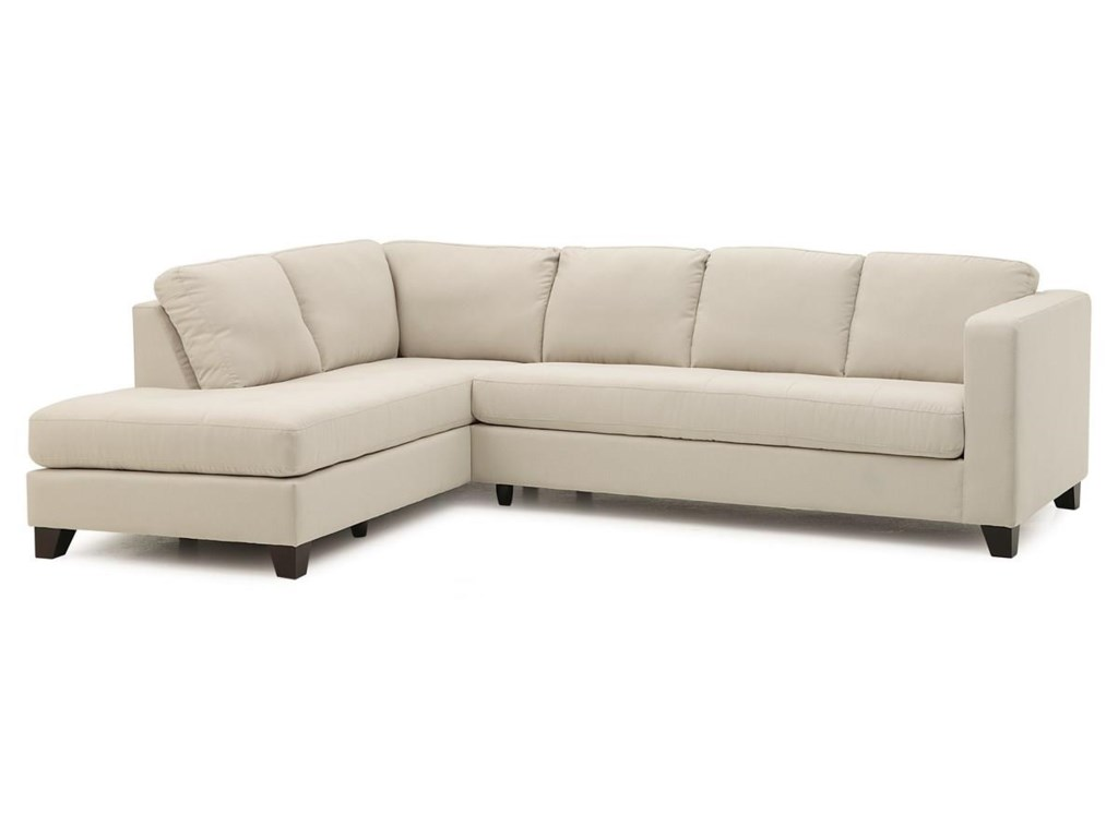 Palliser Sectional Sofa Bed Alula Fabric Reclining True